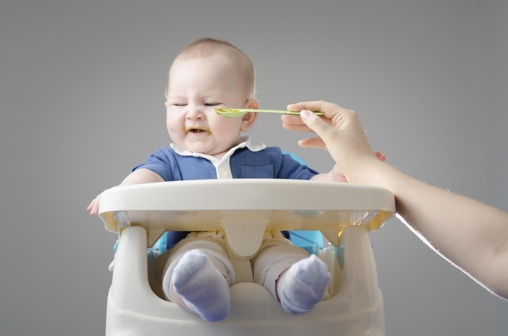 Baby refuses to eat, picky eater