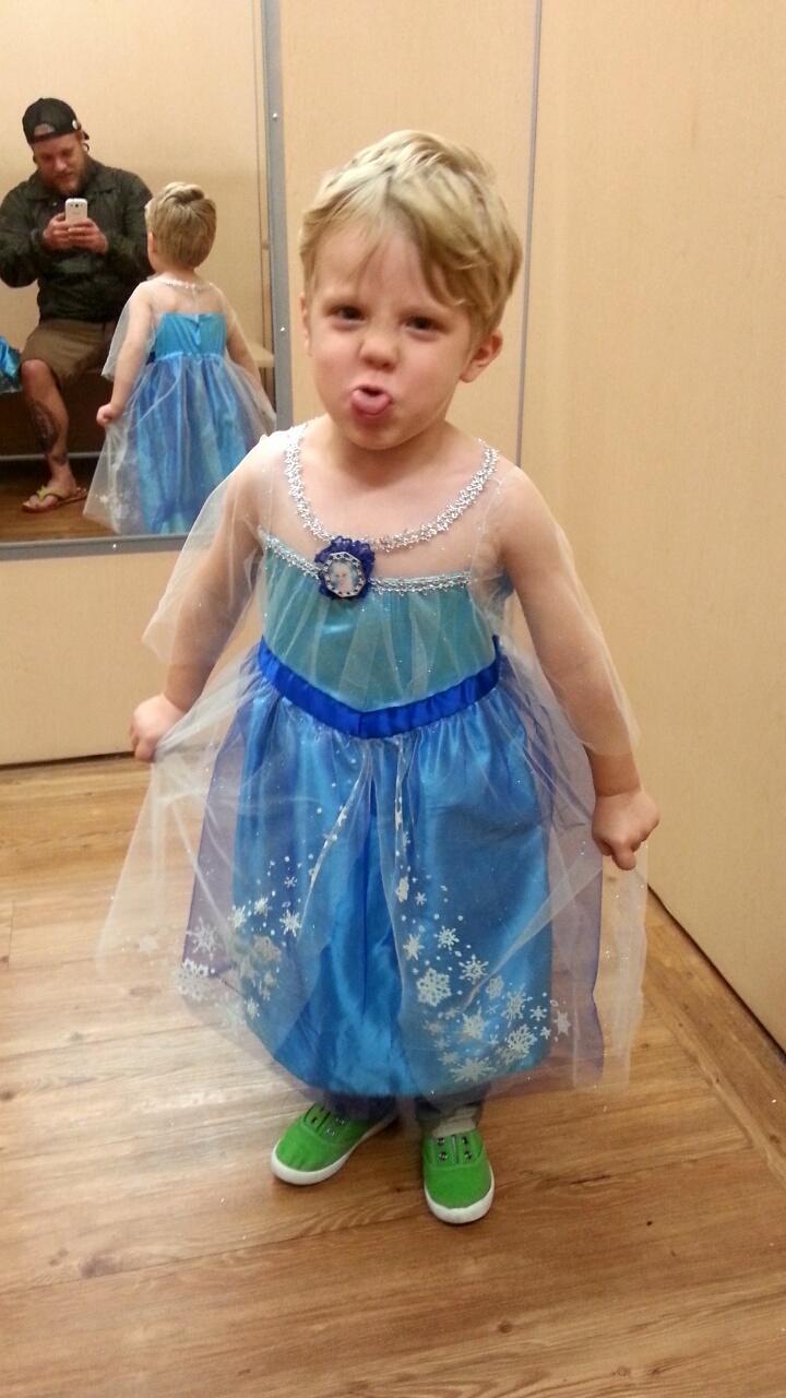 son princess costume