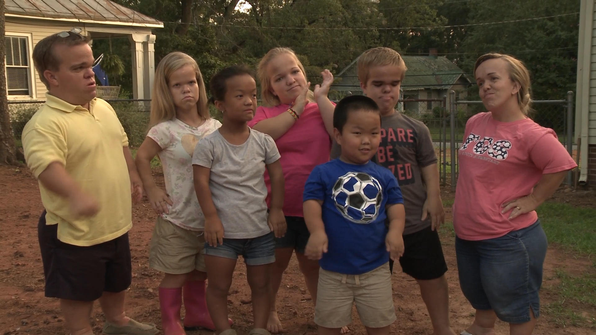 7 little johnstons are back tlc for Where does the outdaughtered family live