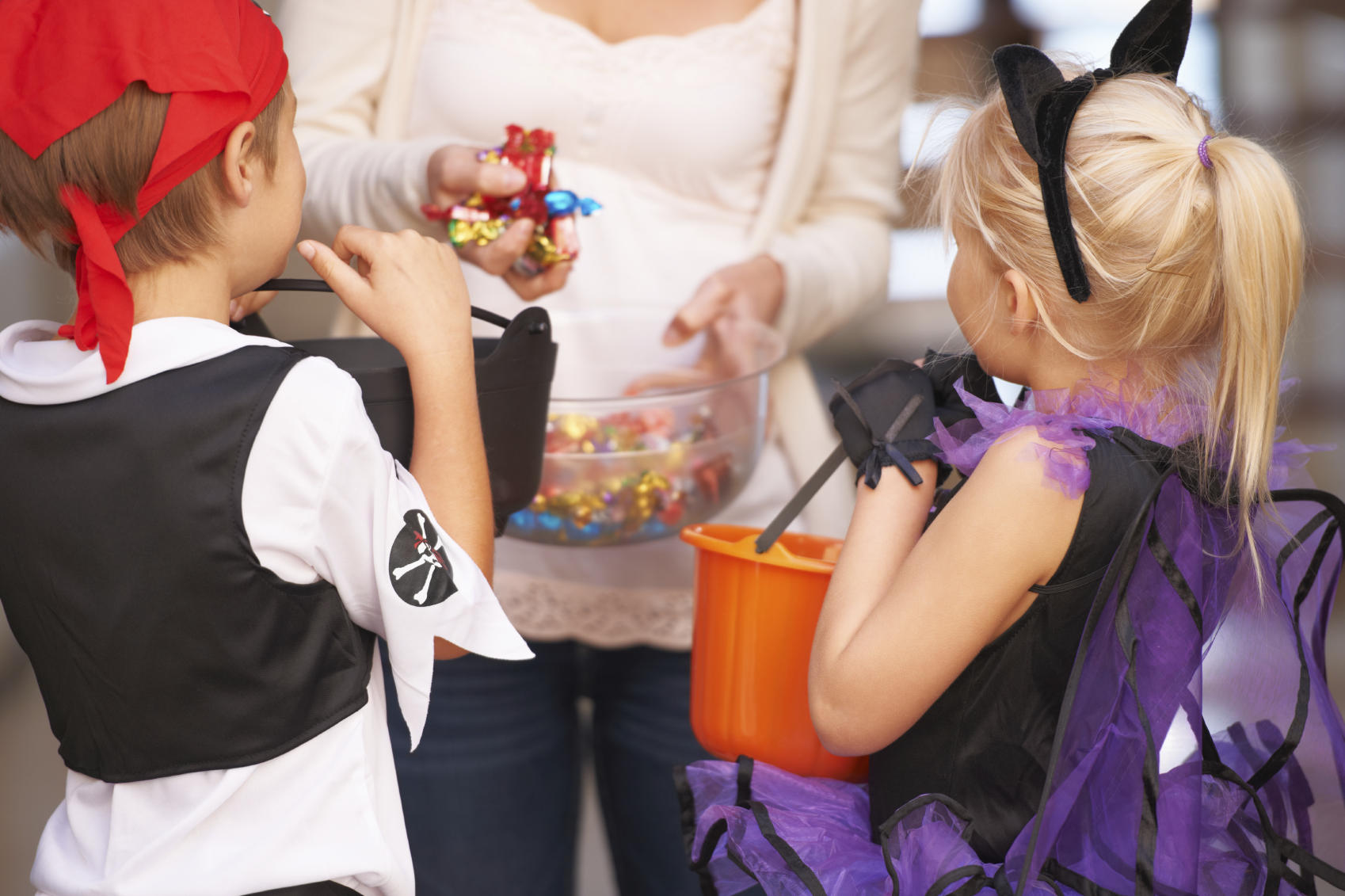 Trick or treat - childhood activities