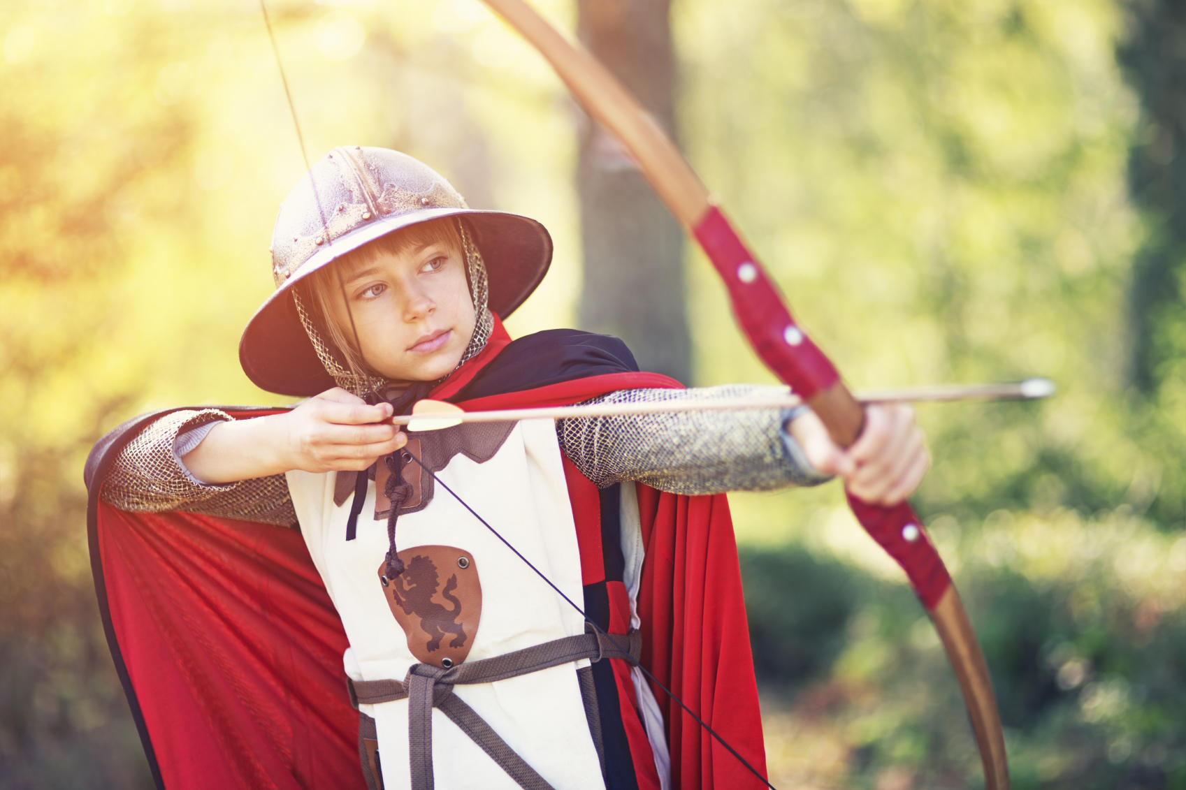 picture of an archer girl