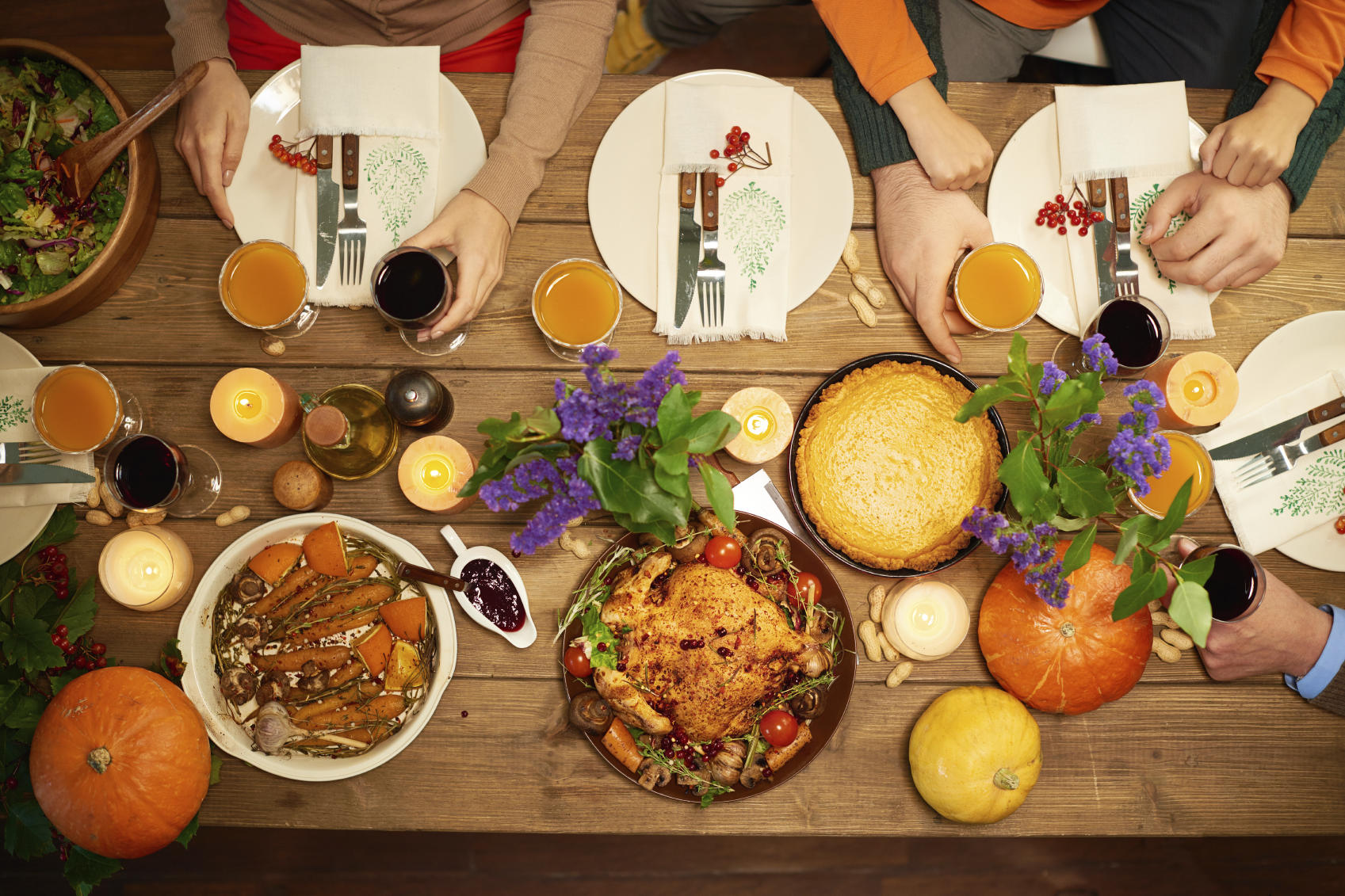 Thanksgiving Table 7 Ways To Make Your Thanksgiving Table Look Like A Million Bucks