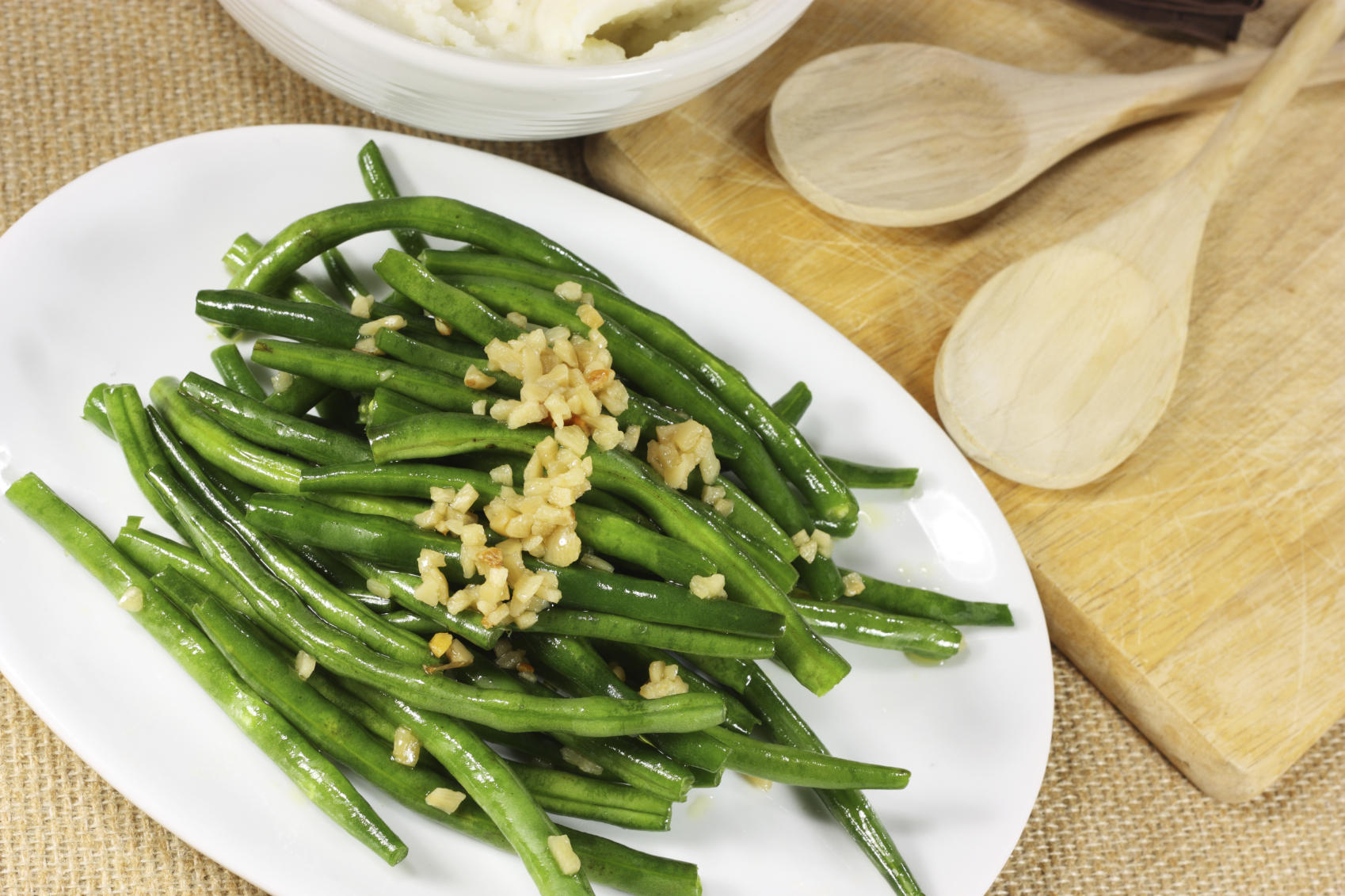 Thanksgiving Side Dishes Apricot Glazed Green Beans