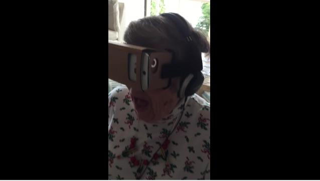 grandma virtual reality