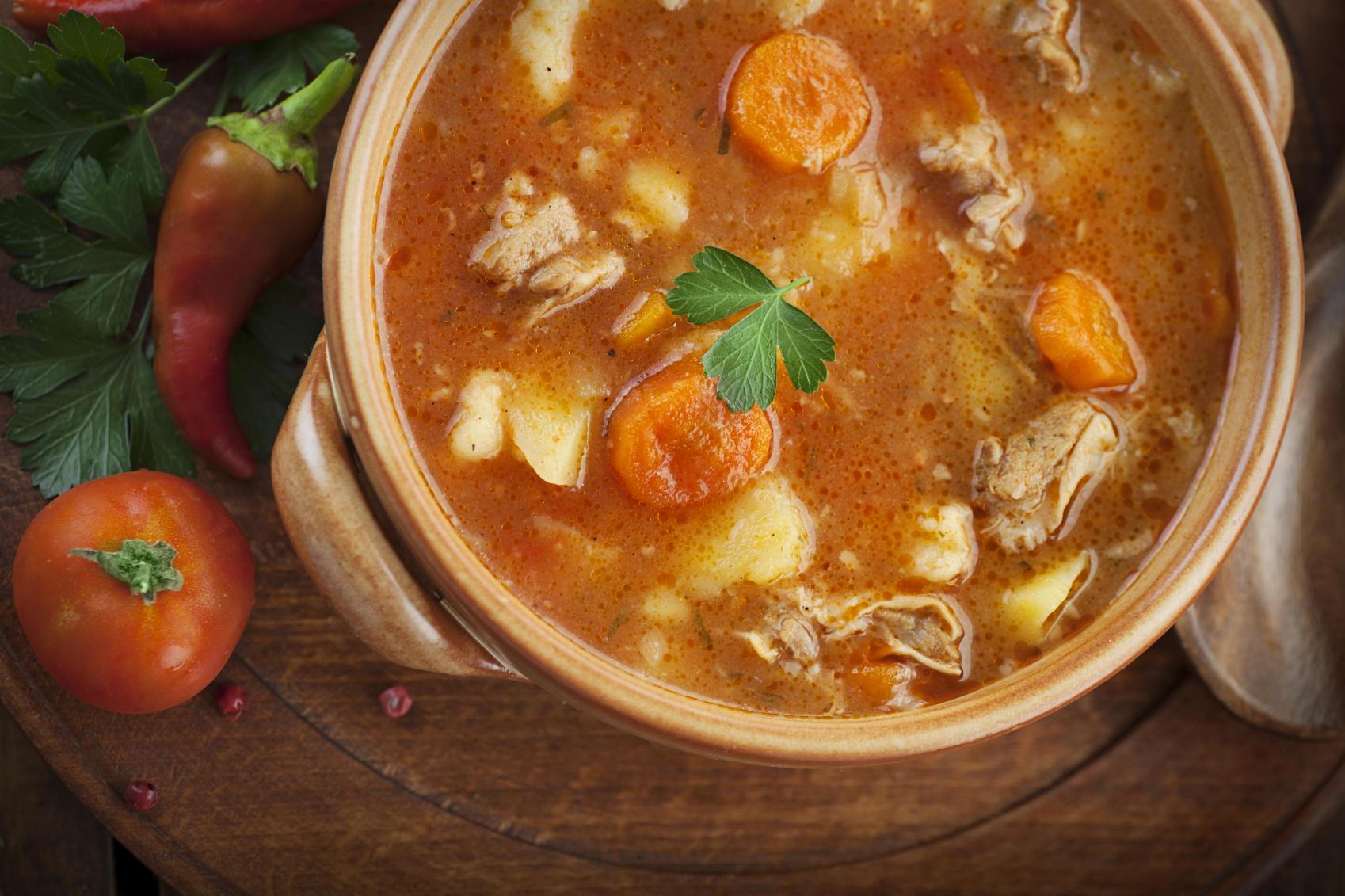 slow cooker dump meal stew