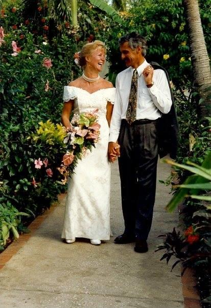 yvonne trimble recycled wedding dress