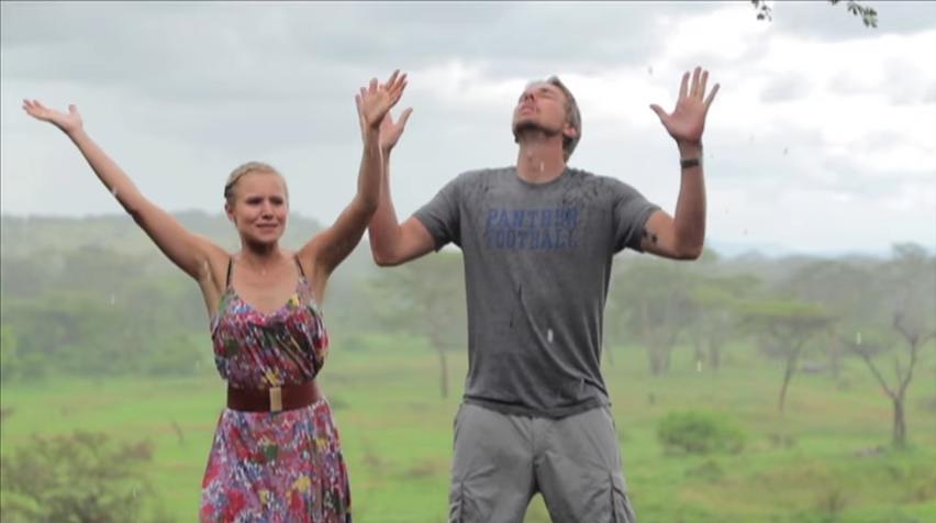 dax shepard kristen bell africa video