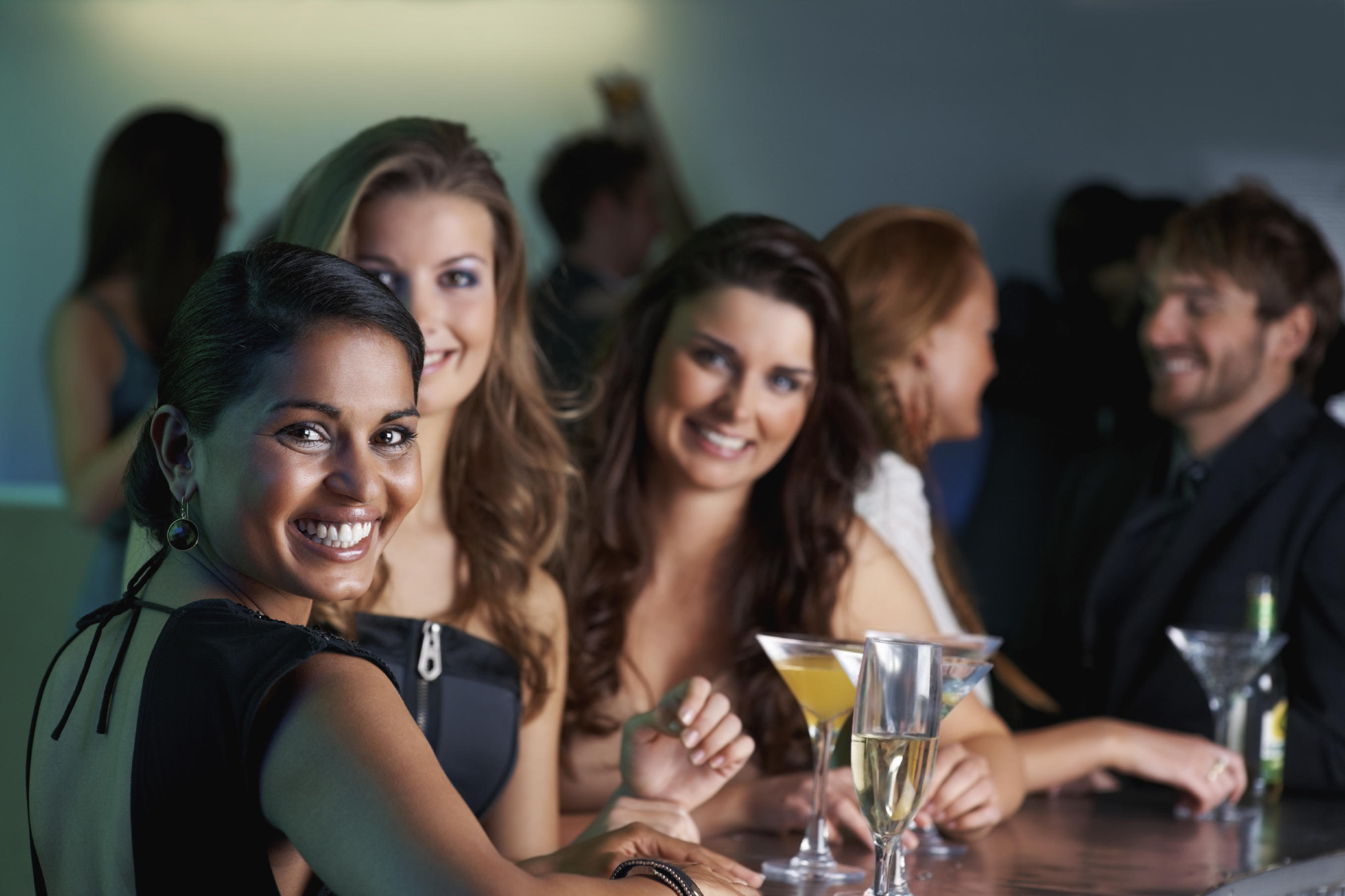 picture of women drinking