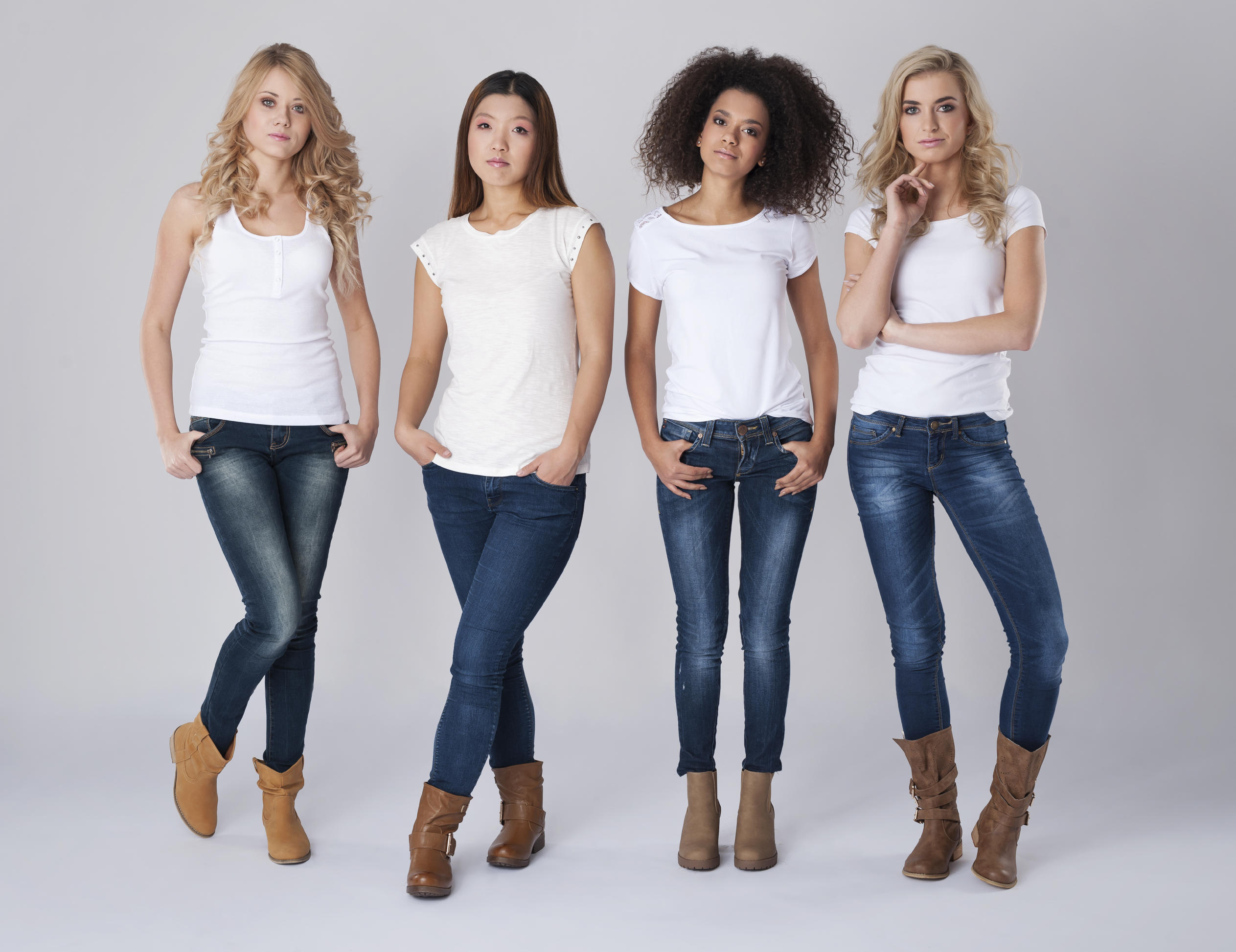 picture of women in jeans