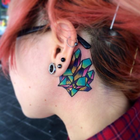 Tattoo Ideas Behind Ear: 21 Insanely Creative Behind-the-Ear Tattoos