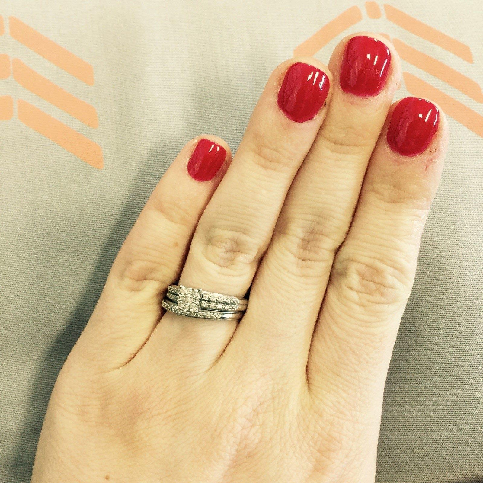 Rachel Pedersen engagement ring