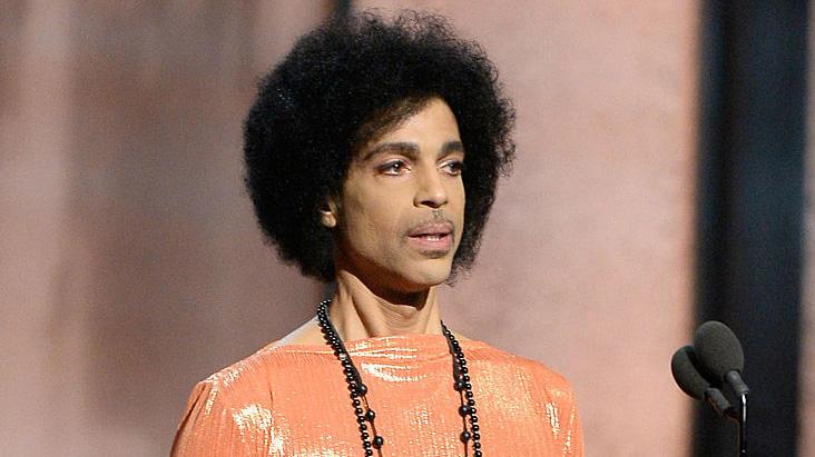 prince at grammys
