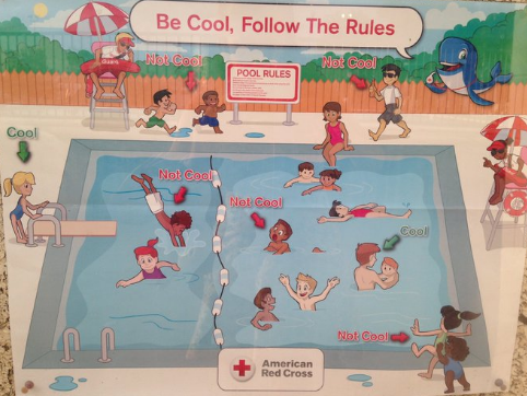picture of racist Red Cross poster