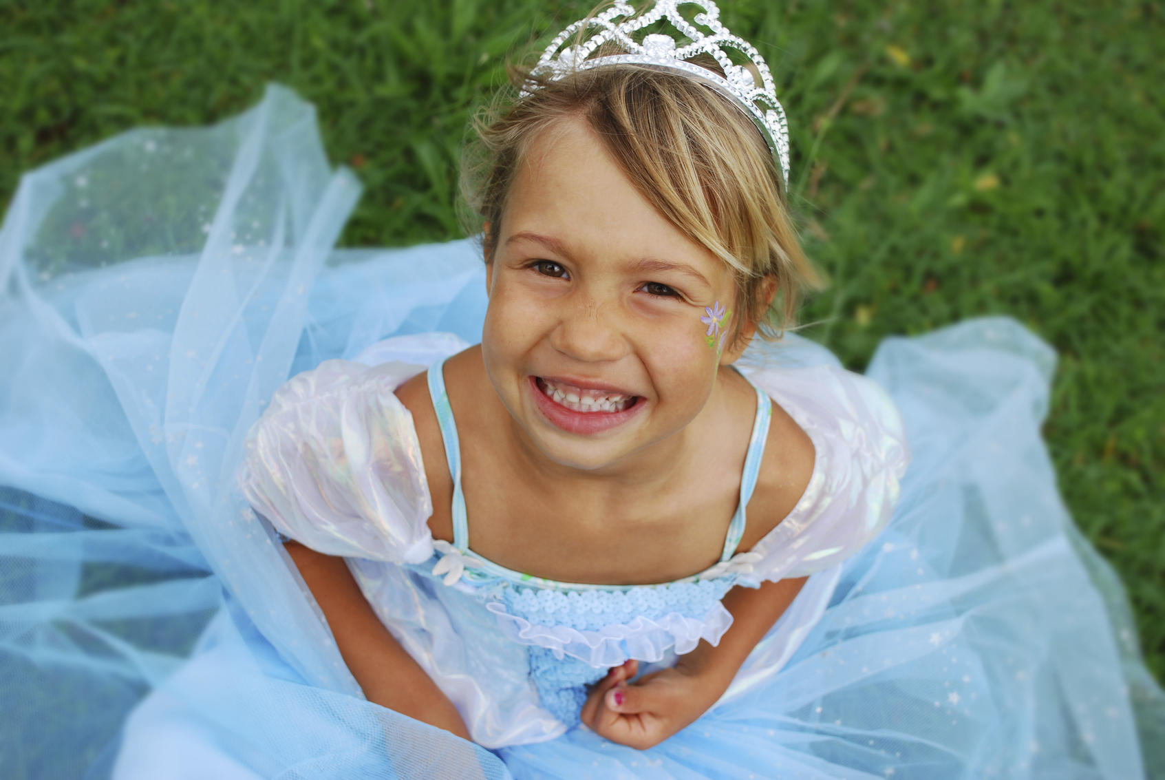 picture of girl in princess dress