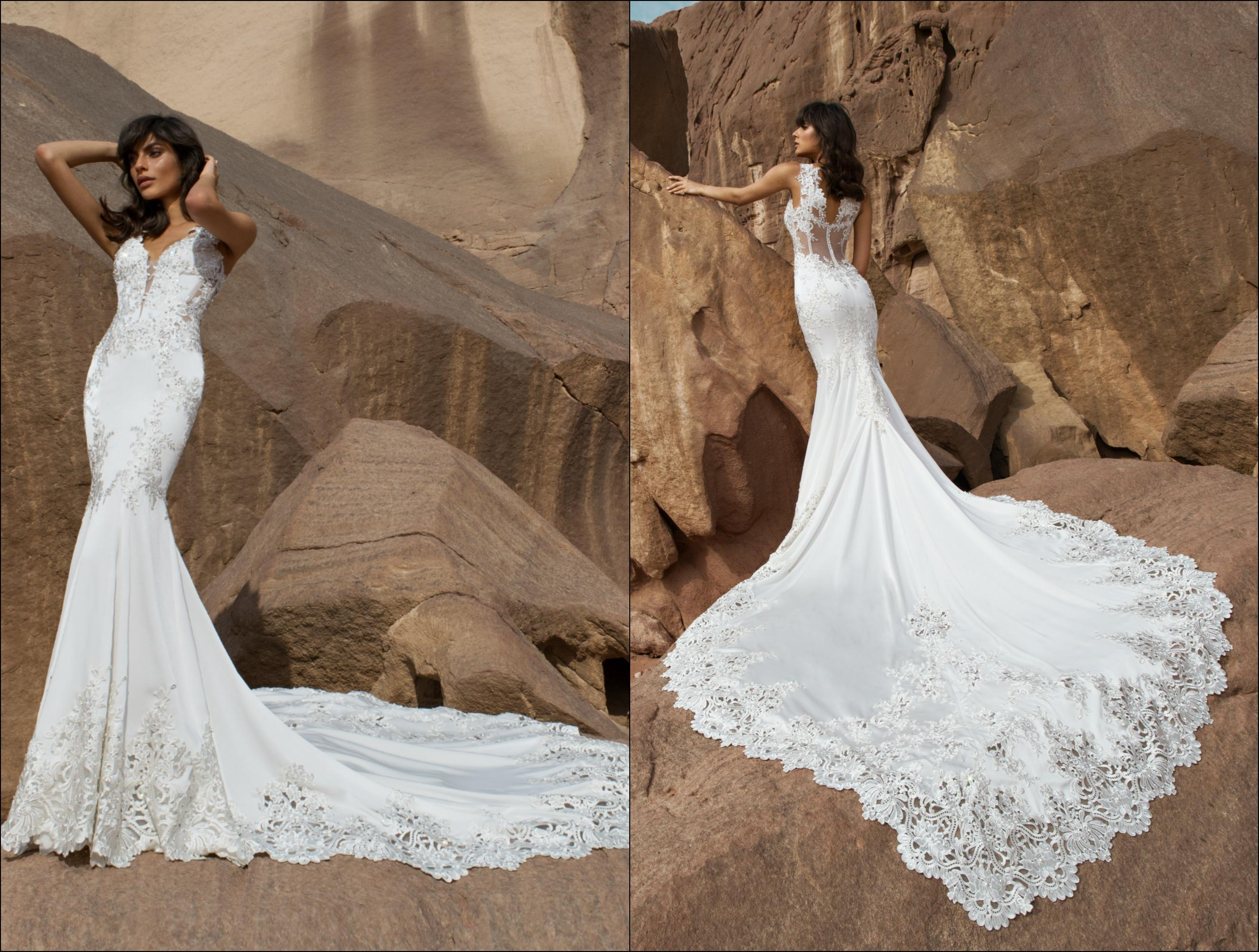 Pnina Tornai, Wind Upon Water Collection, Style #4451