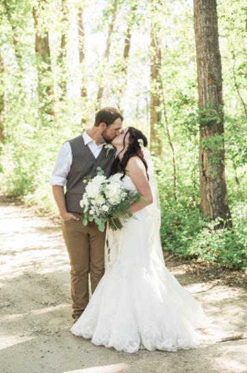 Maddie and Caleb Wedding Photo
