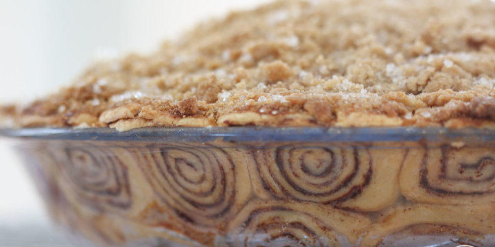 Eggnog Flan On Cinnamon Crust Recipe — Dishmaps