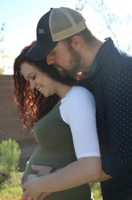 Maddie and Caleb Pregnancy Announcement