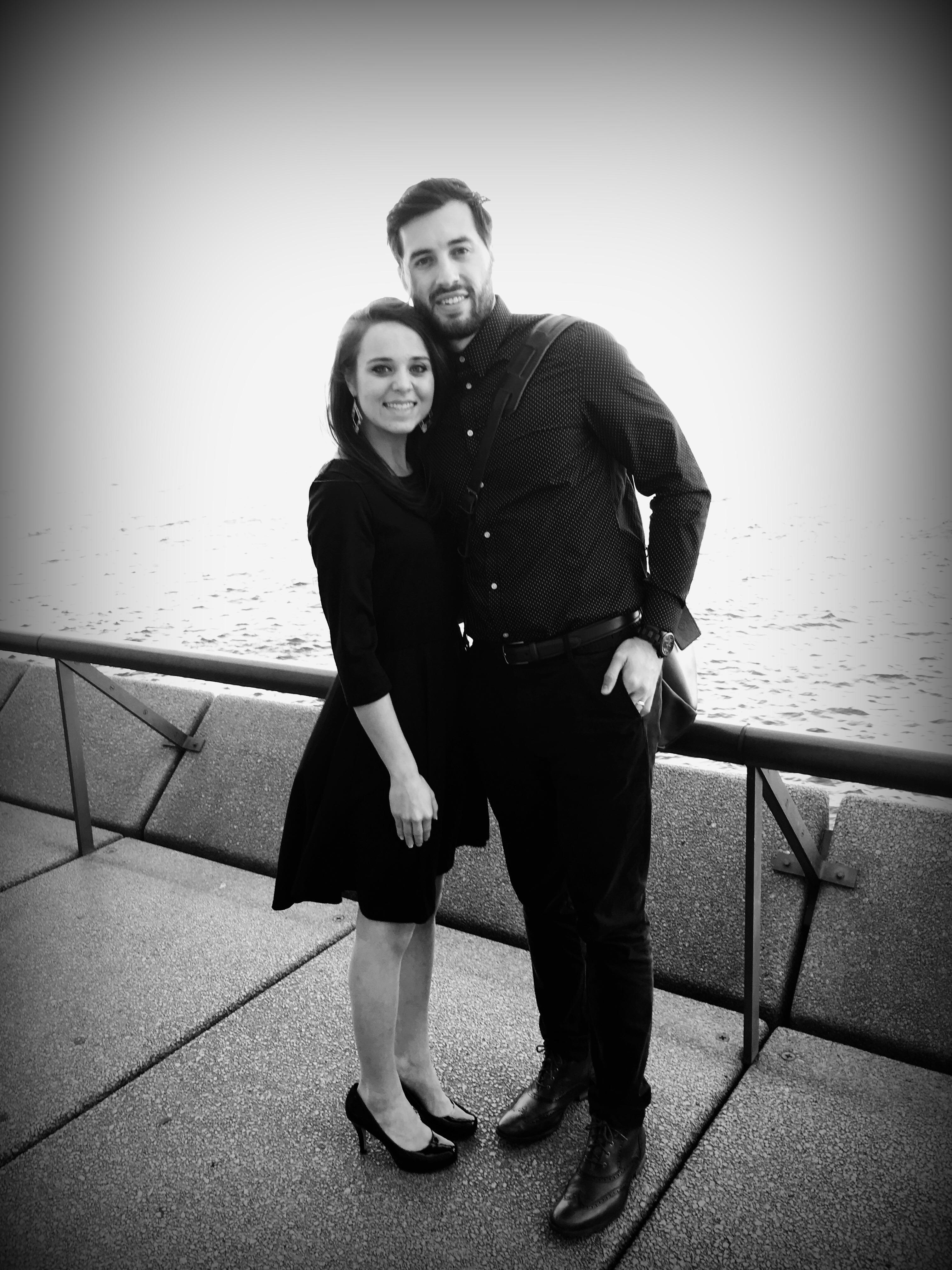 Vuolos on honeymoon