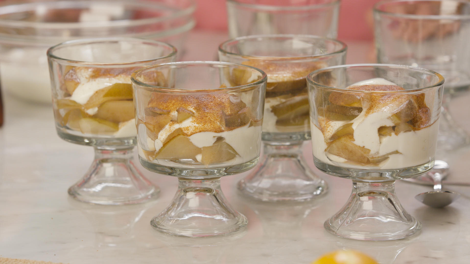 Holiday hostesses_baked Healthy_Pears_parfait