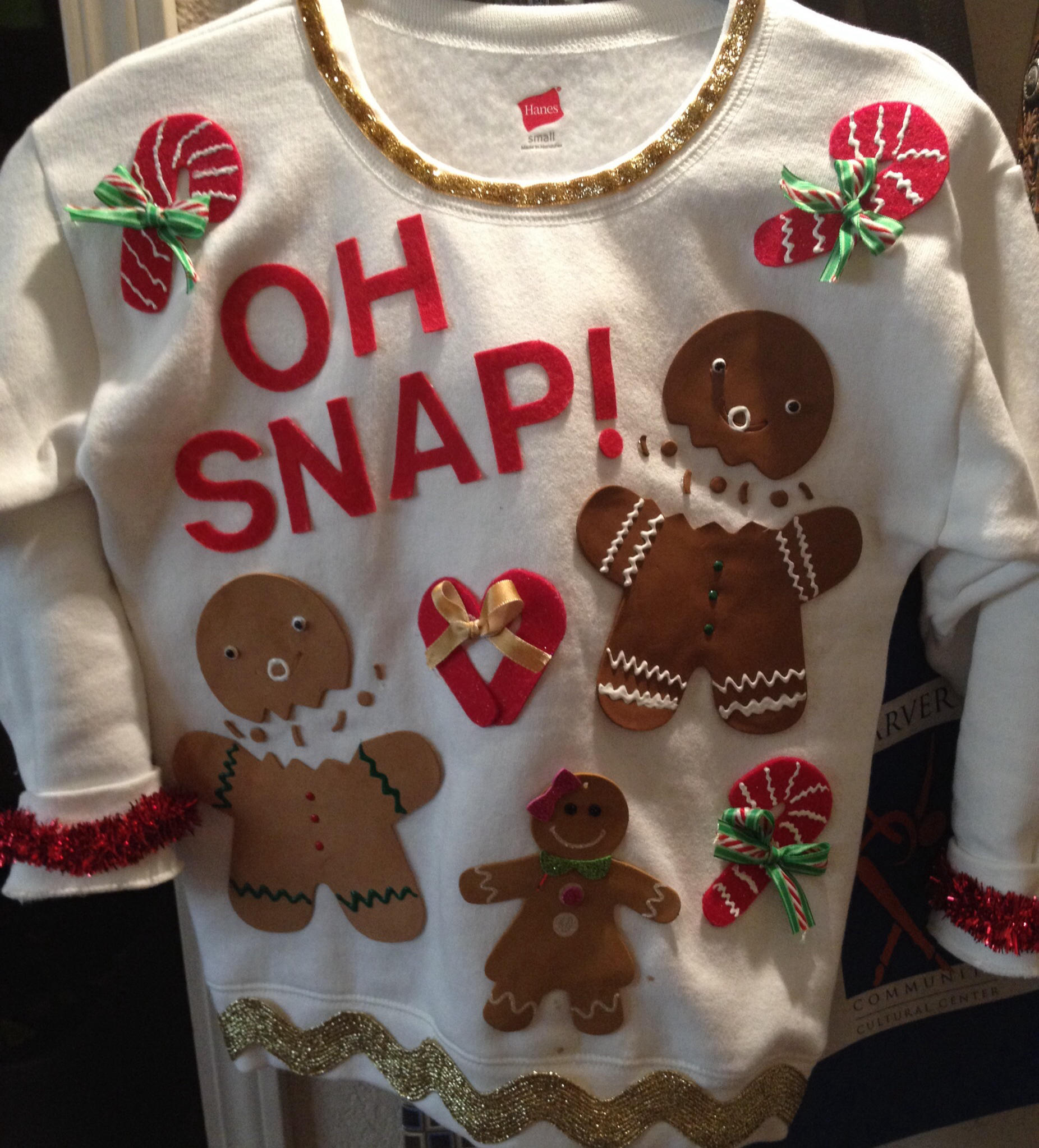 Making your own ugly christmas sweaters