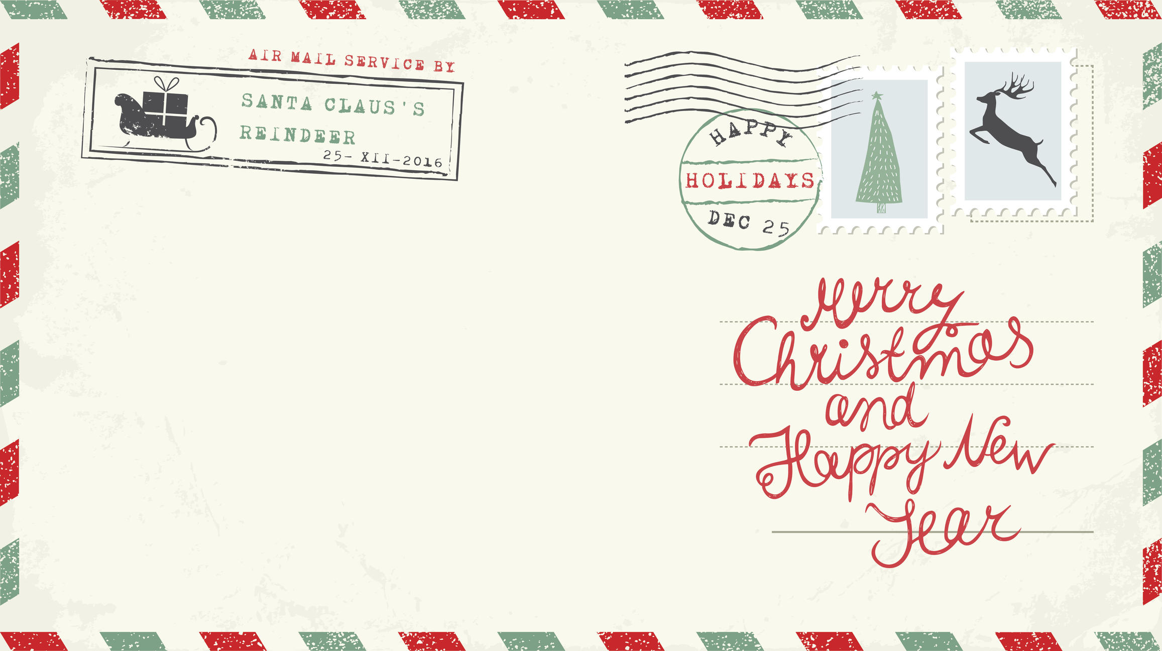 heres how to get a personalized letter from santa postmarked from