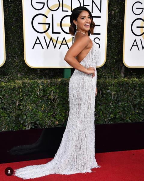2017 Golden Globes Gina