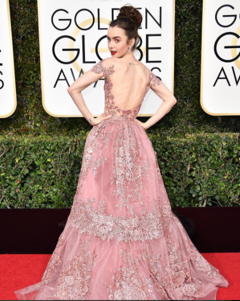2017 Golden Globes Lily