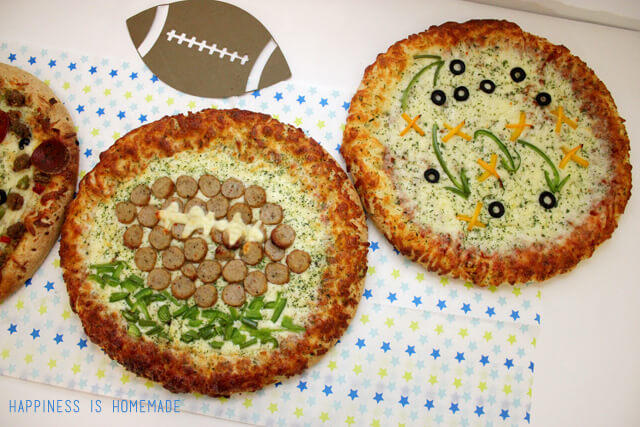Game Day Pizzas