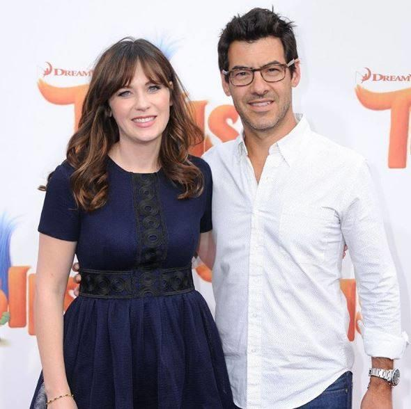 Zooey Deschanel and husband