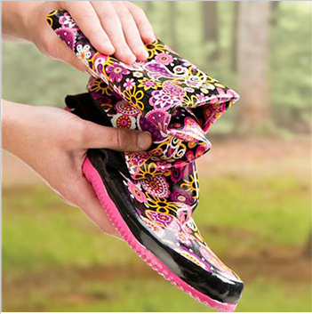 Packable Rainboots