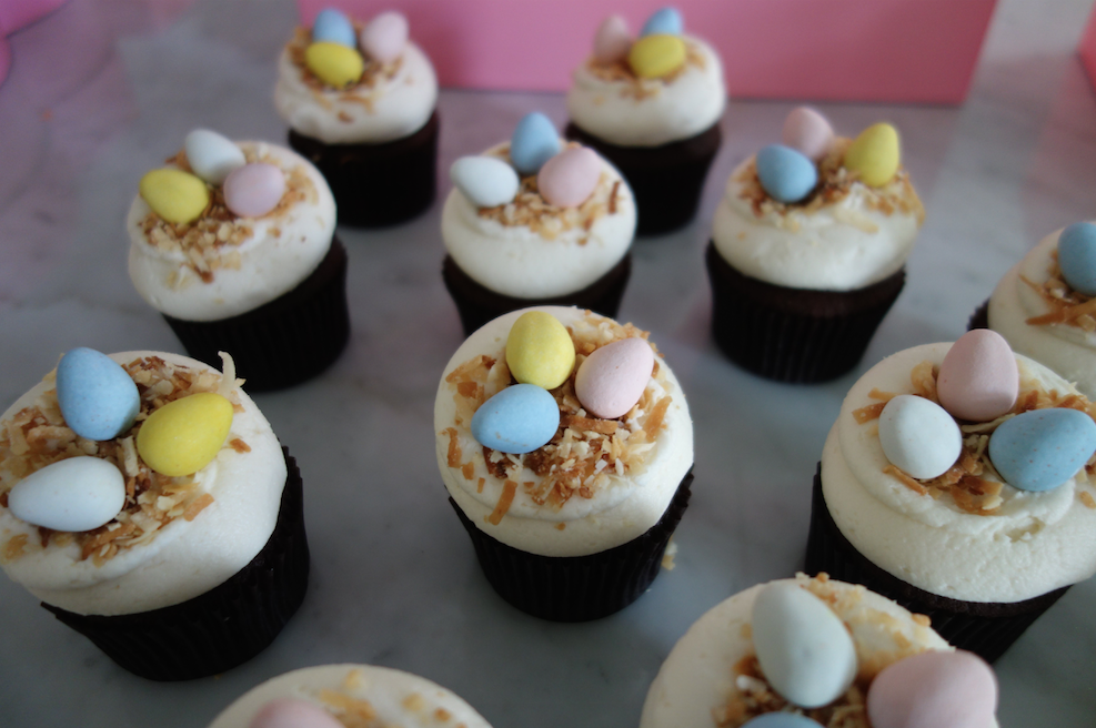 Georgetown Cupcake Easter nest cupcakes