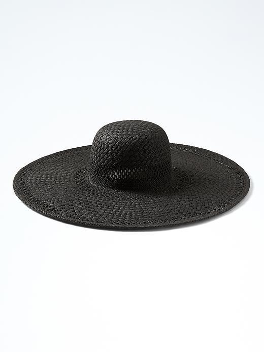 Black Banana Republic Sun Hat