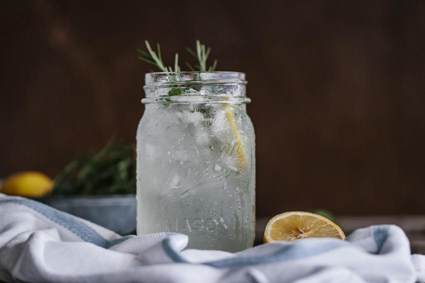 Mint Rosemary Lemonade