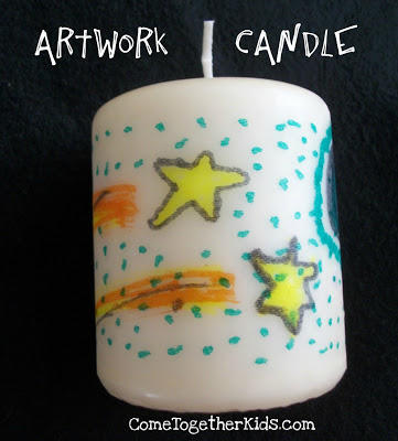 Artwork Candle