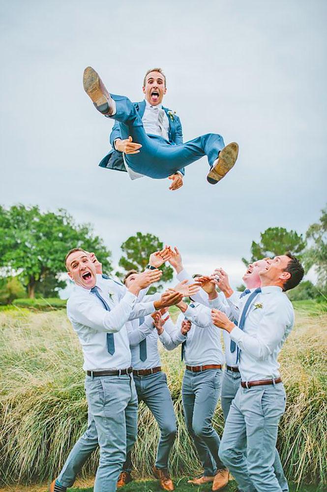 groom is sky high
