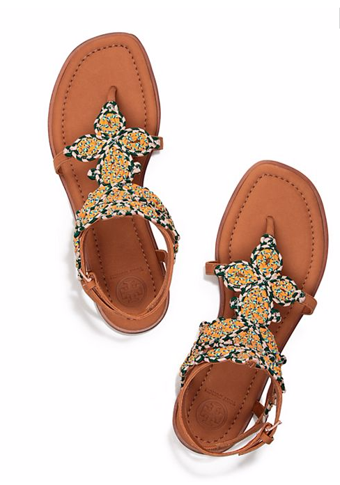 Tory Burch Poolside Flat