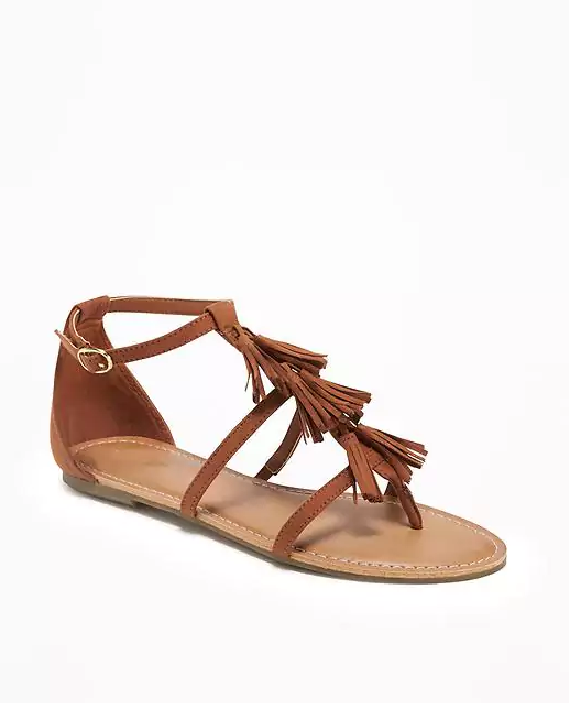 Old Navy Tassel Sandal