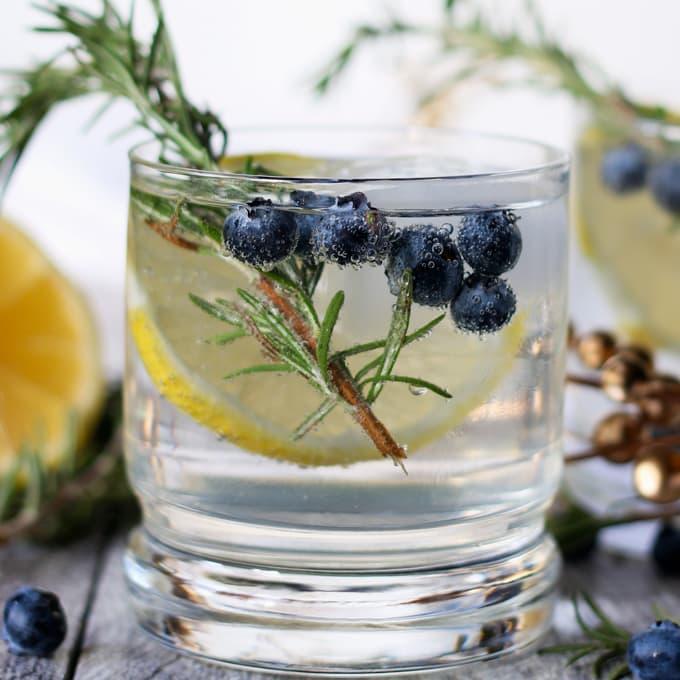 Lemon Blueberry Spritz