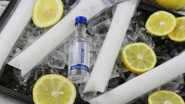 Vodka Lemonade Pops