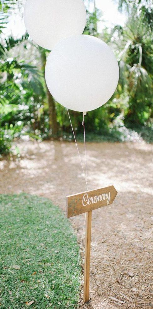 Ceremony Guide Balloons