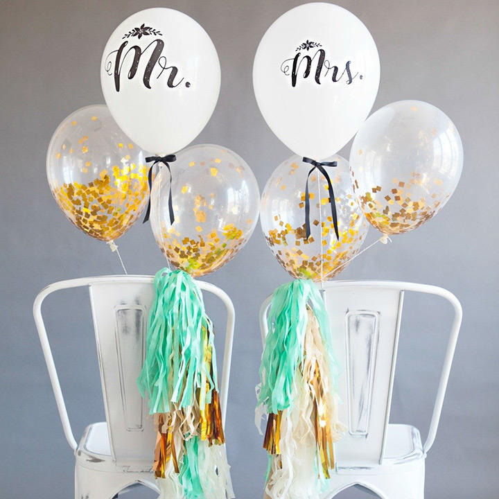 Sweetheart Balloons Table
