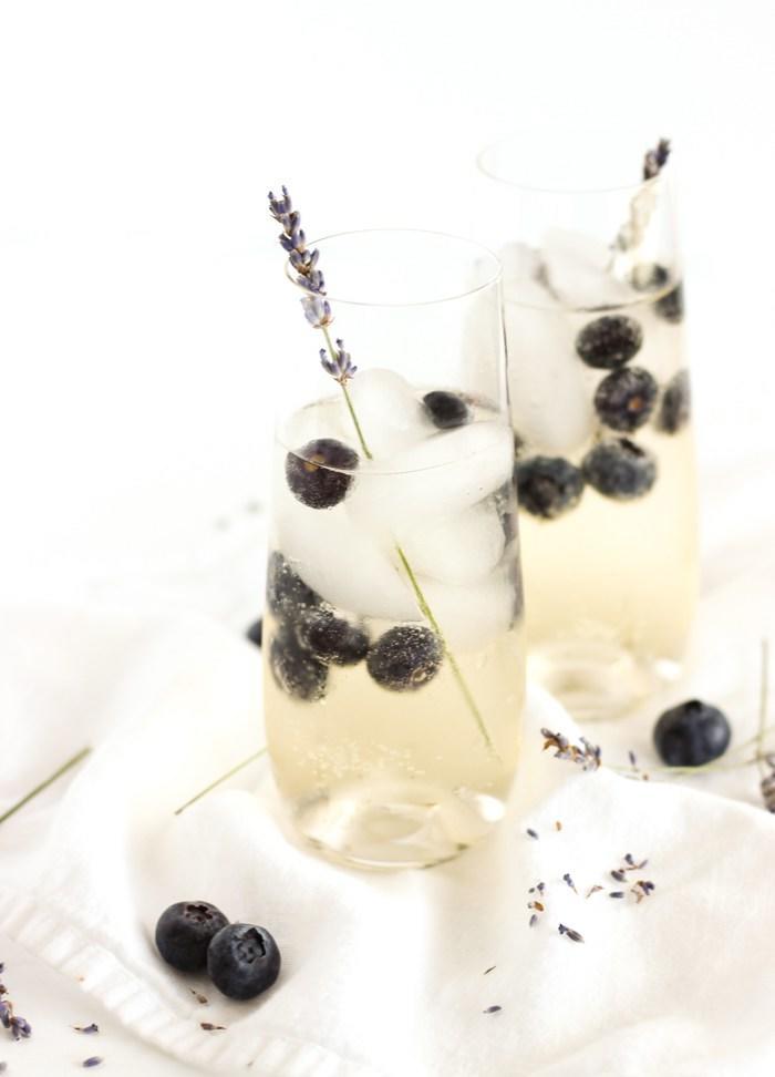 Blue Berry Lavender Sangria