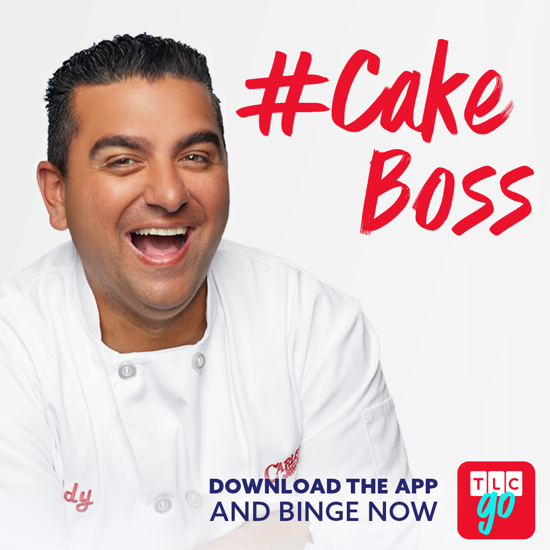 Cake Boss TLC GO Promo