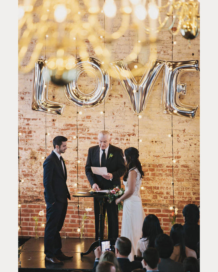 Love Ceremony Balloons