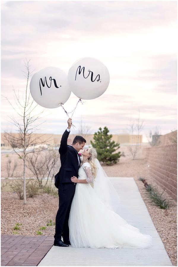 Mr. & Mrs. Balloons