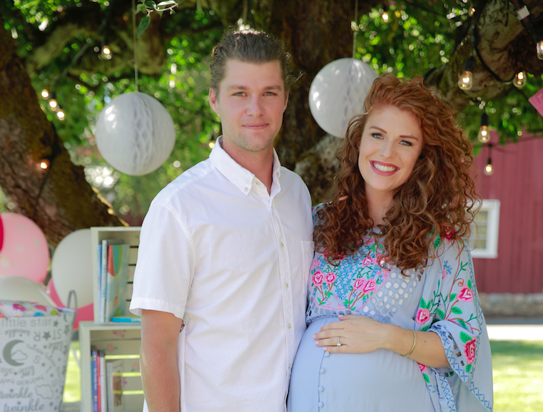 Jeremy and Audrey Roloff at their Baby Shower