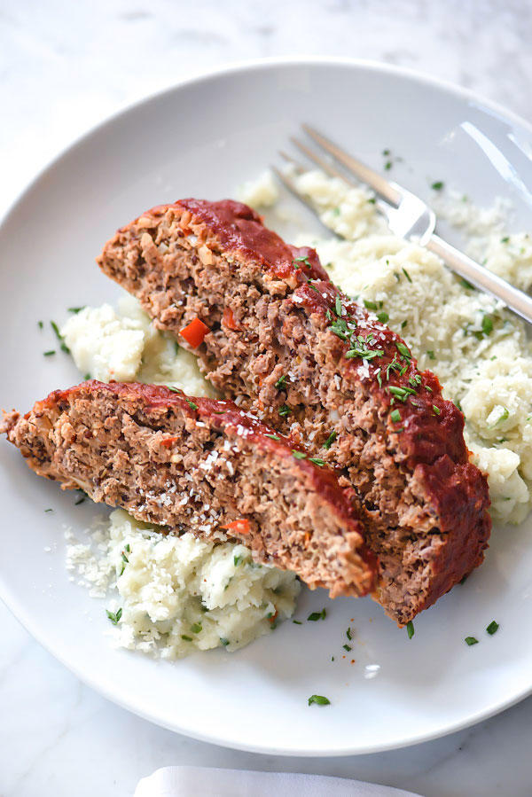 Healthier Turkey Meatloaf