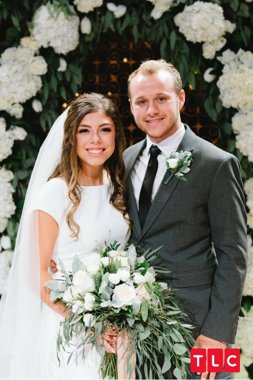 Josiah Duggar Lauren Swanson Wedding Photo