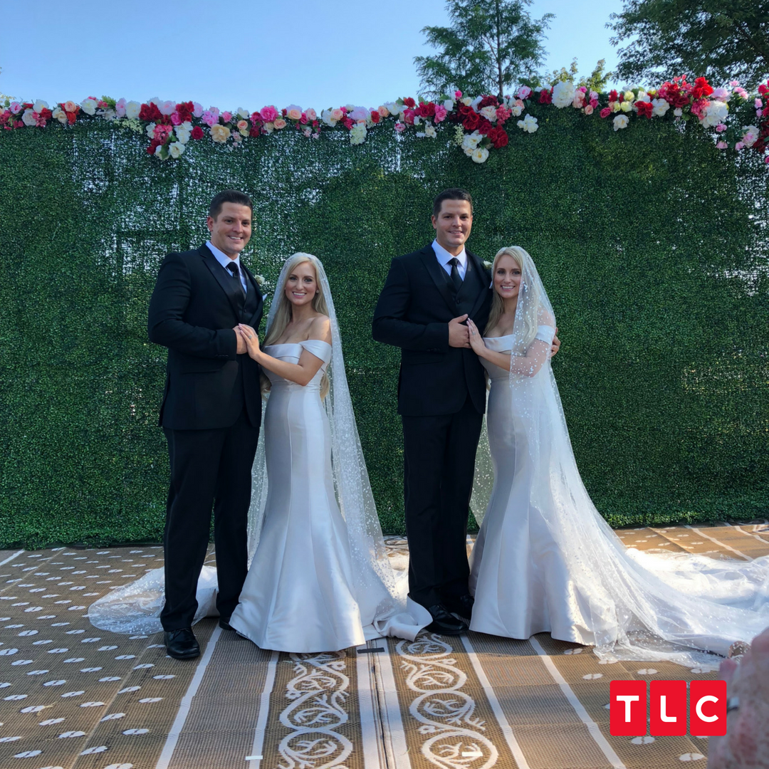 Twins marry twins in doing ceremony